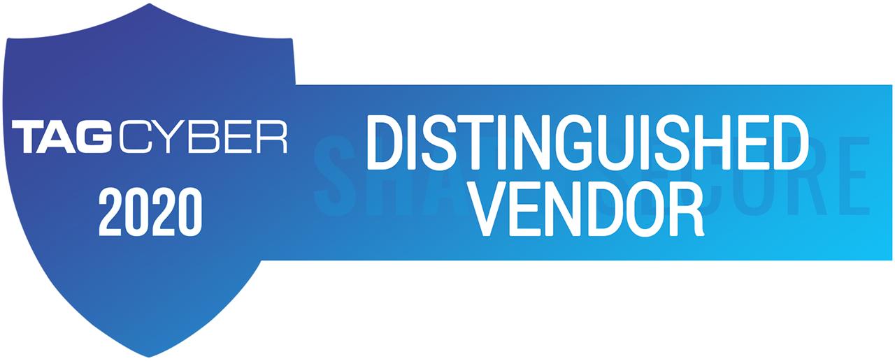 TAG Cyber - Distinguished Vendor 2020
